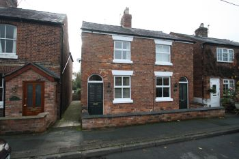28 EATON ROAD, TARPORLEY - two bedroom semi-detached cottage